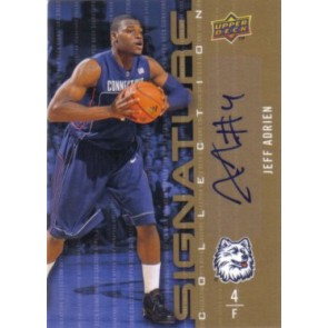 2009-10 Upper Deck Jeff Adrien Signature Collection