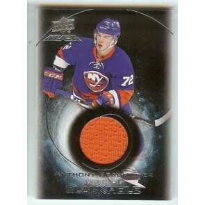 2016-17 UD BLACK ANTHONY BEAUVILLIER BLACK HOLE ROOKIE RELIC RC