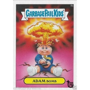 2013 GARBAGE PAIL KIDS TOPPS 75th Anniversary Card #86 Adam Bomb 8a