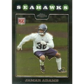 2008 Topps Chrome Jamar Adams Rookie