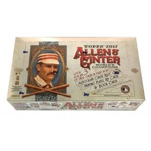 2017 Topps Allen & Ginter Baseball Factory Sealed Hobby Box