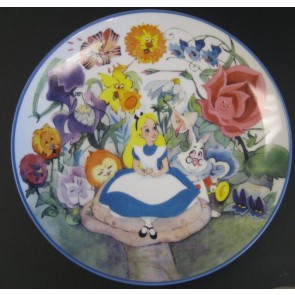 "Walt Disney ""Alice in Wonderland"" Collectible Plate"