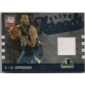 2009-10 Donruss Elite Al Jefferson Elite Threads 30/99