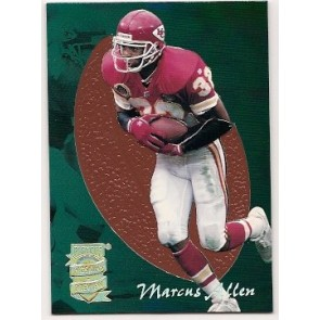 1995 Playoff Prime Marcus Allen Pigskins Preview