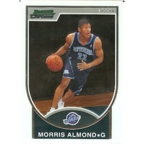 2007-08 Bowman Chrome Morris Almond Rookie 0241/2999