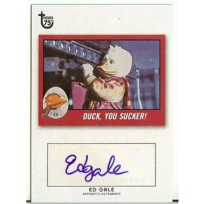 2013 Topps 75th Anniversary Ed Gale Autograph