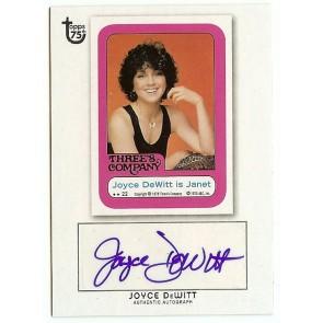 2013 Topps 75th Anniversary Joyce DeWitt Autograph