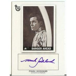 2013 Topps 75th Anniversary Mark Goddard Autograph