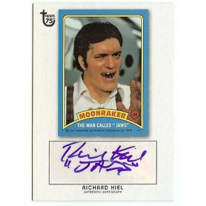 2013 Topps 75th Anniversary Richard Kiel Autograph
