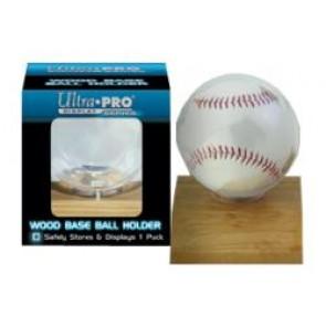 Ultra Pro Light Wood Ball Holder (5 Lot)