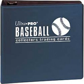 "Ultra Pro 3"" Baseball Binder Blue"