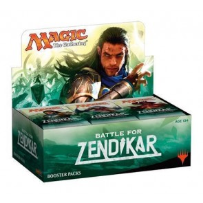 MAGIC BATTLE FOR ZENDIKAR Booster Box MTG Factory Sealed