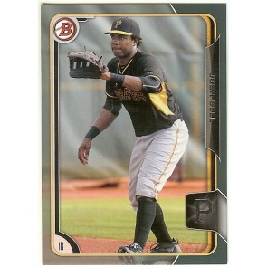 2015 Bowman Draft Silver Josh Bell 127/499 #164 Pirates