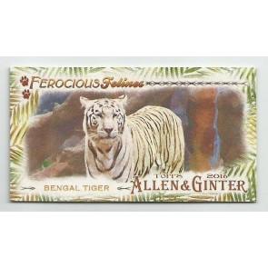 2016 Topps Allen & Ginter Mini Bengal Tiger Insert Ferocious Felines FF-1