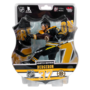 "2017 PATRICE BERGERON  6"" Action Figure - Boston Bruins ONLY 4850 PRODUCED"