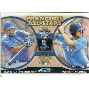 2012 Bowman Chrome Billy Butler - Wil Myers Franchise All-Stars