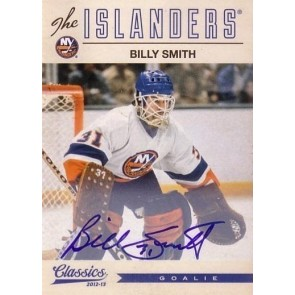 2012-13 Panini Classics Signatures Billy Smith Autograph