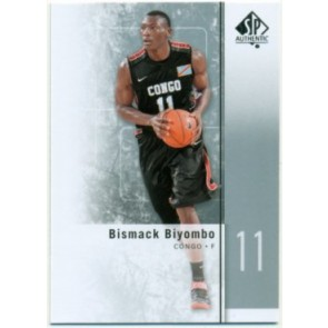 2011-12 Upper Deck SP Authentic Bismack Biyombo