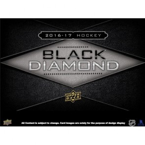 2016-17 Upper Deck Black Diamond Hockey - AVAILABLE IN STORE ONLY