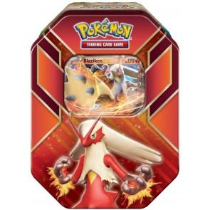 2015 Pokemon Hoenn Power Blaziken-EX Collector's Tin