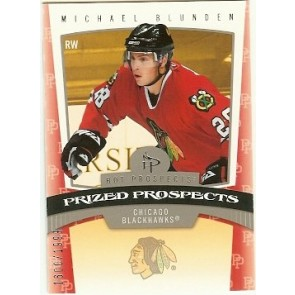 2006-07 Fleer Hot Prospects Michael Blunden Prized Prospects Rookie 1600/1999