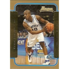 2003-04 Bowman Keith Bogans Rookie Gold