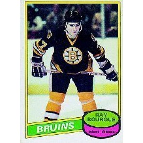 1980-81 O-Pee-Chee Ray Bourque Rookie Card