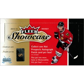 2013-14 Fleer Showcase Hockey Box
