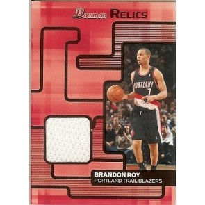 2007-08 Bowman Draft Picks & Stars Brandon Roy Bowman Relics