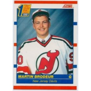 1990-91 Score Martin Brodeur Rookie Canadian Version