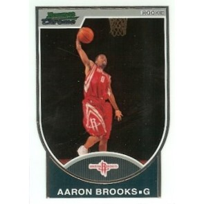 2007-08 Bowman Chrome Aaron Brooks Rookie 0648/2999