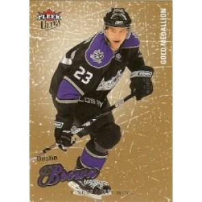 2008-09 Fleer Ultra Dustin Brown Gold Medallion