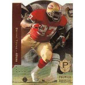 1994 Upper Deck SP Bryant Young Premiere Prospects Foil Diecut