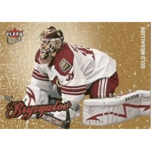 2008-09 Fleer Ultra Ilya Bryzgalov Gold Medallion