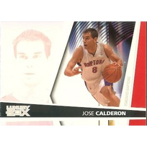 2005-06 Topps Luxury Box Jose Calderone Rookie