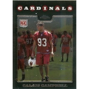 2008 Topps Chrome Calais Campbell Rookie