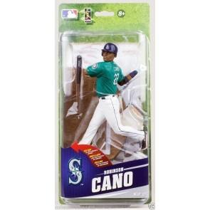 "ROBINSON CANO McFarlane MLB 33 SportsPicks 6"" Figure NEW Mariners Green Uniform"