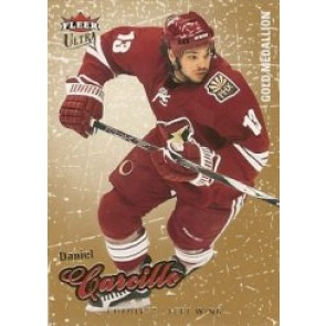 2008-09 Fleer Ultra Daniel Carcillo Gold Medallion