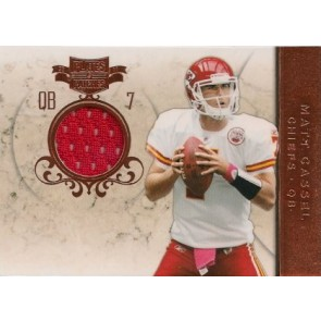 2011 Panini Plates & Patches Matt Cassel Game Memorabilia 251/299