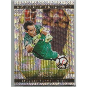 2016-17 Panini Select Soccer CLAUDIO BRAVO - CHILE Sky's The Limit Insert Rare