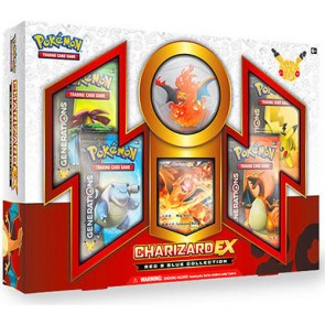 Pokémon TCG: Generations Red & Blue Collection – Charizard-EX Box