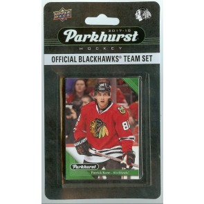 2017-18 Parkhurst Chicago Black Hawks Team Set 10 Card Set