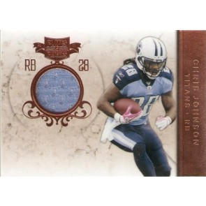 2011 Panini Plates & Patches Chris Johnson Game Memorabilia 254/299