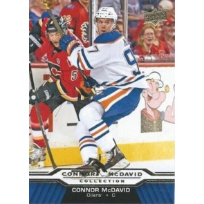 2015-16 CONNOR McDAVID Upper Deck Collection #CM-8 EDMONTON OILERS ROOKIE RARE