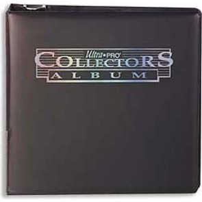 "Ultra Pro 3"" Collectors Binder Black"