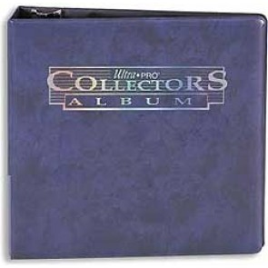 "Ultra Pro 3"" Collectors Binder Blue"