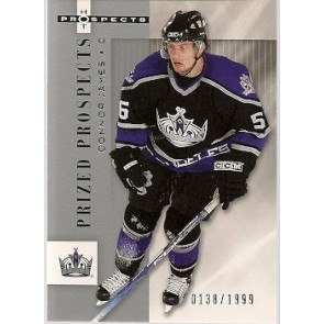 2005-06 Fleer Hot Prospects Connor James Prized Prospects Rookie 0138/1999