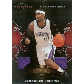 2010-11 Panini Elite Black Box DeMarcus Cousins Crusade Jersey 81/99