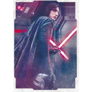 2017 STAR WARS THE LAST JEDI PORTRAIT #CP-1 KYLO REN SP