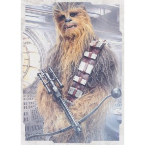 2017 Topps Star Wars Last Jedi CHARACTER PORTRAIT CP-7 CHEWBACCA